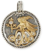 Konstantino Virgo Carved Zodiac Pendant with Diamond