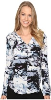 Calvin Klein Jeans Printed Pop Over Blouse