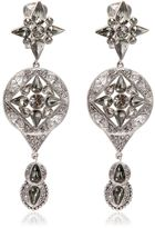 Roberto Cavalli Ethnic Deco Earrings
