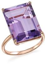 Bloomingdale's Amethyst Statement Ring in 14K Rose Gold - 100% Exclusive
