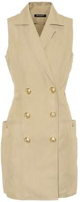 Balmain Cotton and linen minidress