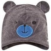 Barts Grey Bear Cutie Earflap Beanie