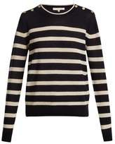 Vanessa Bruno Izara striped wool-blend sweater