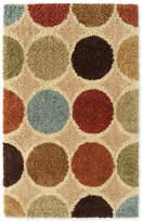 Asstd National Brand Concepts Squares Shag Rectangular Rug