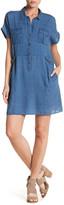 J Brand Kayden Short Sleeve Dress