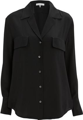 Frame Noir Silk Blouse