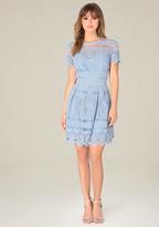 Bebe Gibson Crochet Dress