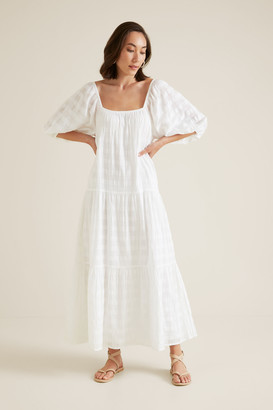 Seed Heritage Self Check Tiered Dress