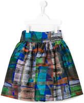 Simonetta Fancy printed skirt