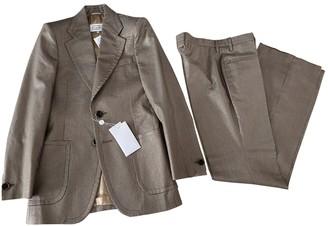 Maison Margiela Gold Wool Suits
