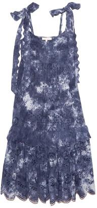 LoveShackFancy Antonella Dress in Hand Dyed Midnight