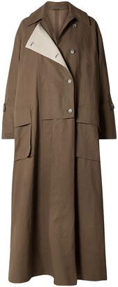 Acne Studios Oriole Oversized Linen Trench Coat