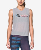 Under Armour Cotton Breathe Wordmark Tank Top