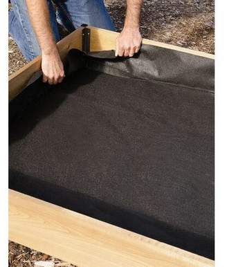 Gardener Raised Bed Liner, 4' x 8' - Gardener's Supply Company