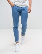 Diesel Sleenker Skinny Jeans 0684b Mid Wash