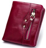 YOBOKO High Quality Small Size Mini Bifold Hand Wallet with Concealed Button