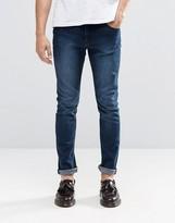 Cheap Monday Tight Skinny Jeans in Dark Indigo
