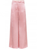 Valentino Silk-blend trousers