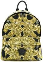 Versace Baroque printed backpack