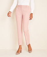 Ann Taylor The Petite Ankle Pant in End on End - Curvy Fit