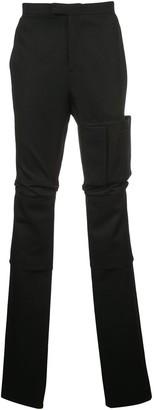 Raf Simons Patch Pocket High Waist Trousers