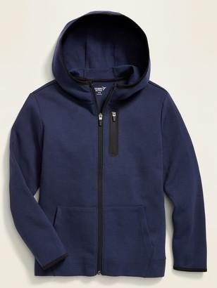 Old Navy Dynamic Fleece 4-Way-Stretch Zip Hoodie for Boys