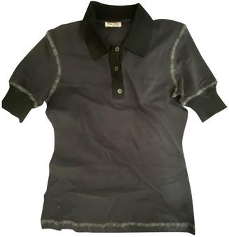 Miu Miu Black Wool Top for Women