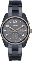 DKNY Crosby Blue Metal Chronograph Watch