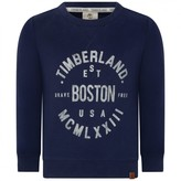 Timberland TimberlandBoys Navy Boston Print Sweater
