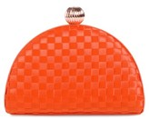 Ted Baker Weave Bobble Clutch - Red