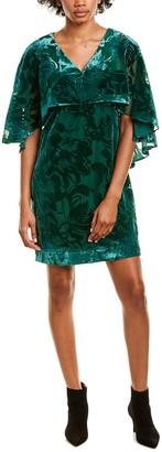 trina Trina Turk Trina By Trina Turk Cape Shift Dress
