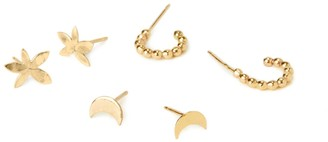 Amorcito Space Matter Stud Set