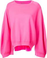 ADAM by Adam Lippes oversized sleeve sweatshirt