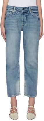 Frame 'Le Pixie' light wash boyfriend jeans