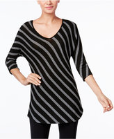 INC International Concepts Striped Tunic, Only at Macy's