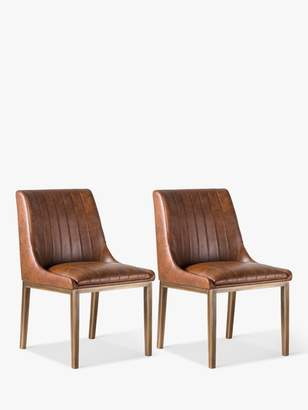 Hudson Living Nero Dining Chairs, Set of 2
