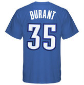 adidas Men's Oklahoma City Thunder Kevin Durant Player T-Shirt