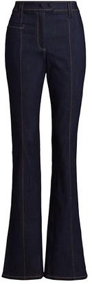 Cinq à Sept Kirim Relaxed Straight-Leg Jeans