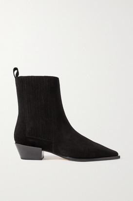 AEYDĒ Belinda Suede Ankle Boots