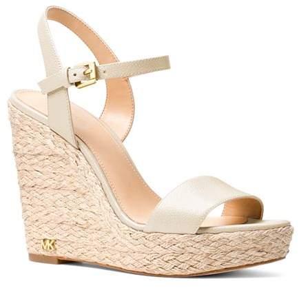 aa43a22e87c Women's Jill Leather Espadrille Platform Wedge Sandals