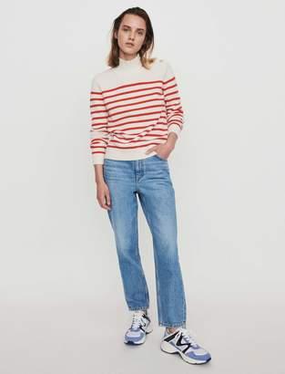 Maje Sailor-style cashmere sweater
