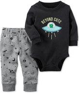 Carter's 2-Pc. Cotton Beyond Cute Bodysuit & Jogger Pants Set, Baby Boys (0-24 months)