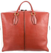 Tod's Leather D-Cube Carryall Bag