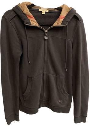 Burberry \N Black Cotton Knitwear & Sweatshirts