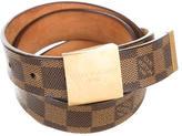 Louis Vuitton Damier Ebene Waist Belt