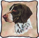 Pure Country German Shorthaired Pointer Pillow - 17 x 17 Pillow