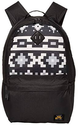 Nike SB Icon Backpack - All Over Print 1 (Anthracite/Sail/Dark Sulfur) Backpack Bags