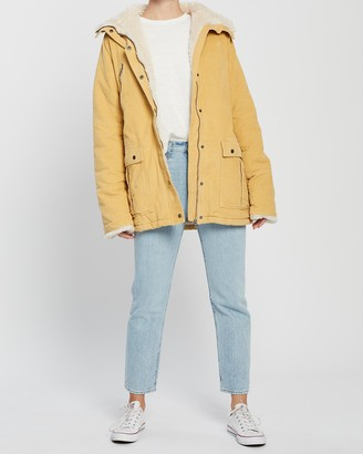 All About Eve Cord Utility Jacket