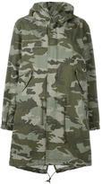 Mr & Mrs Italy - camouflage print parka - women - Cotton - XXS