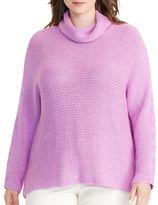 Lauren Ralph Lauren Plus Dolman Funnelneck Sweater